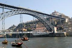 Ansicht der Porto-Stadt, Portugal. Lizenzfreie Stockfotos