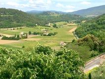 Ansicht der Provençal-Landseite Lizenzfreie Stockfotos
