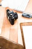 Ansicht der Retro- Kamera Lizenzfreie Stockfotografie