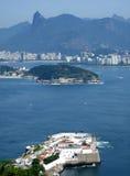 Ansicht der Rio- de Janeirostadt Stockbild