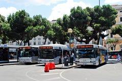 Ansicht der Rom-Stadt Endstationsstation am 1. Juni 2014 Stockfotografie