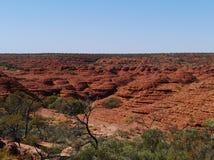 Ansicht der Sandsteinhauben an Königen Canyon Lizenzfreie Stockbilder