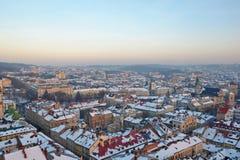 Ansicht der schönen Stadt Lizenzfreie Stockbilder