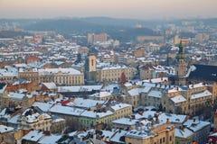 Ansicht der schönen Stadt Lizenzfreies Stockfoto