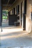 Ansicht der Scheune in der Ranch Lizenzfreie Stockfotos