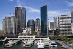 Ansicht in der Sidney-Mitte Stockfotos