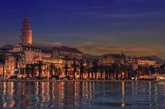 Ansicht der Spalte, Kroatien Stockfoto