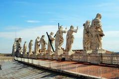Ansicht der Spitze von St. Peter Basilica überdachen am 31. Mai 2014 Stockfotografie