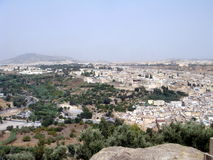 Ansicht der Stadt Lizenzfreies Stockbild