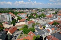 Ansicht der Stadt lizenzfreie stockbilder