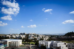 Ansicht der Stadt Stockbilder