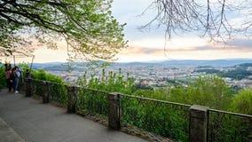 Ansicht der Stadt Braga stockfoto
