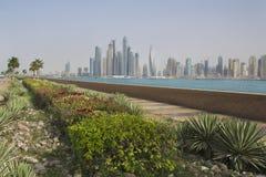 Ansicht der Stadt Dubai Stockfoto