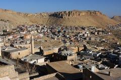 Ansicht der Stadt Mardin in der südöstlichen Türkei Stockbild