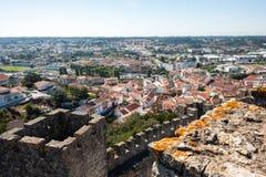 Ansicht der Stadt Pombal stockfotos