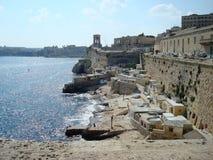 Ansicht der Stadt und des Hafens Lizenzfreie Stockfotos