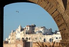 Ansicht der Stadt von Essaouira Stockbild