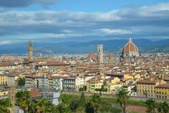 Ansicht der Stadt von Florenz, Italien Stockbild