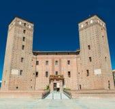 Ansicht der Stadt von Fossano, Piemont, Italien Lizenzfreie Stockfotografie