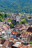 Ansicht der Stadt von Freiburg in Deutschland Stockbilder