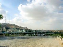 Ansicht der Stadt von Kairo Stockbild