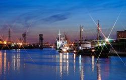 Ansicht der Stadt von Kaliningrad stockfotos