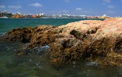 Ansicht der Stadt von Portimao Lizenzfreie Stockfotos