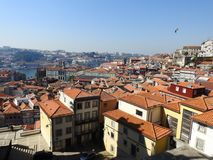 Ansicht der Stadt von Porto portugal lizenzfreie stockfotos