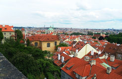 Ansicht der Stadt von Prag Stockfoto