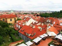 Ansicht der Stadt von Prag Lizenzfreies Stockfoto