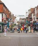 Ansicht der Stadt von Salisbury stockfotografie