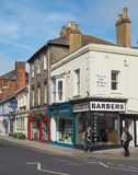 Ansicht der Stadt von Salisbury stockbild