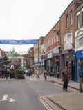 Ansicht der Stadt von Salisbury stockfotos