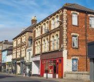 Ansicht der Stadt von Salisbury stockbilder