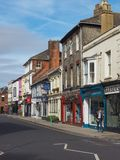 Ansicht der Stadt von Salisbury lizenzfreies stockbild