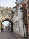 Ansicht der Stadt von Salisbury lizenzfreie stockfotografie