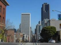 Ansicht der Stadt von San Francisco Lizenzfreies Stockfoto
