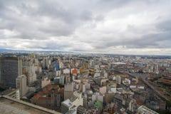Ansicht der Stadt von Sao Paulo Lizenzfreie Stockfotos