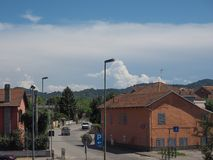 Ansicht der Stadt von Settimo Torinese Stockfoto