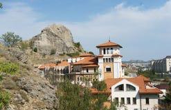 Ansicht der Stadt von Sudak Stockbilder