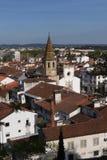 Ansicht der Stadt von Tomar, Bezirk von Santarém, Lizenzfreie Stockfotografie