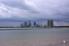 Ansicht der Stadt von Toronto Lizenzfreie Stockfotos