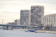 Ansicht der Stadtrände des St. Petersburg Lizenzfreie Stockfotografie
