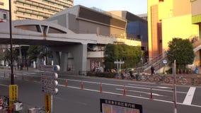 Ansicht der Straße in Shibuya, Tokyo, Japan stock video footage