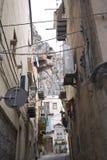 Ansicht der Straßen von Cefalu stockfotografie