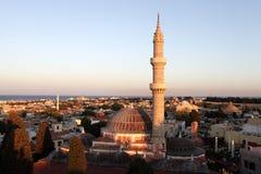 Ansicht der Suleiman Moschee Stockfotos