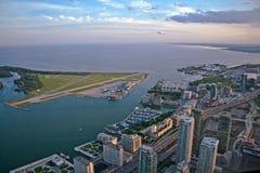 Ansicht der Toronto-Stadt Stockbilder