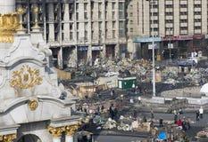 Ansicht der Unabhängigkeit Maidan Stockfoto
