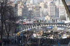 Ansicht der Unabhängigkeit Majdan Lizenzfreie Stockfotografie