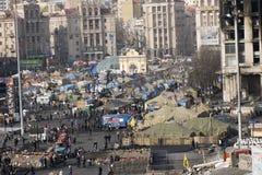 Ansicht der Unabhängigkeit Majdan Lizenzfreie Stockbilder